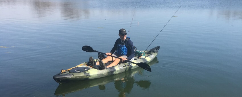 Beginner Kayak Fishing