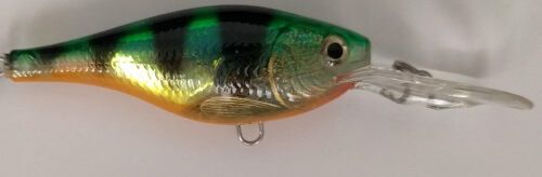 Rapala Shad Rap With Treble Hook Attachment Point