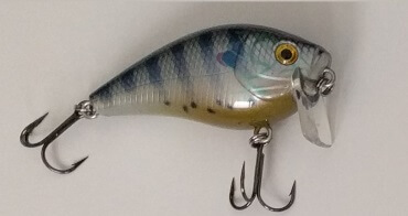 Shallow Diving Crankbait Dives 0 - 1 feet.