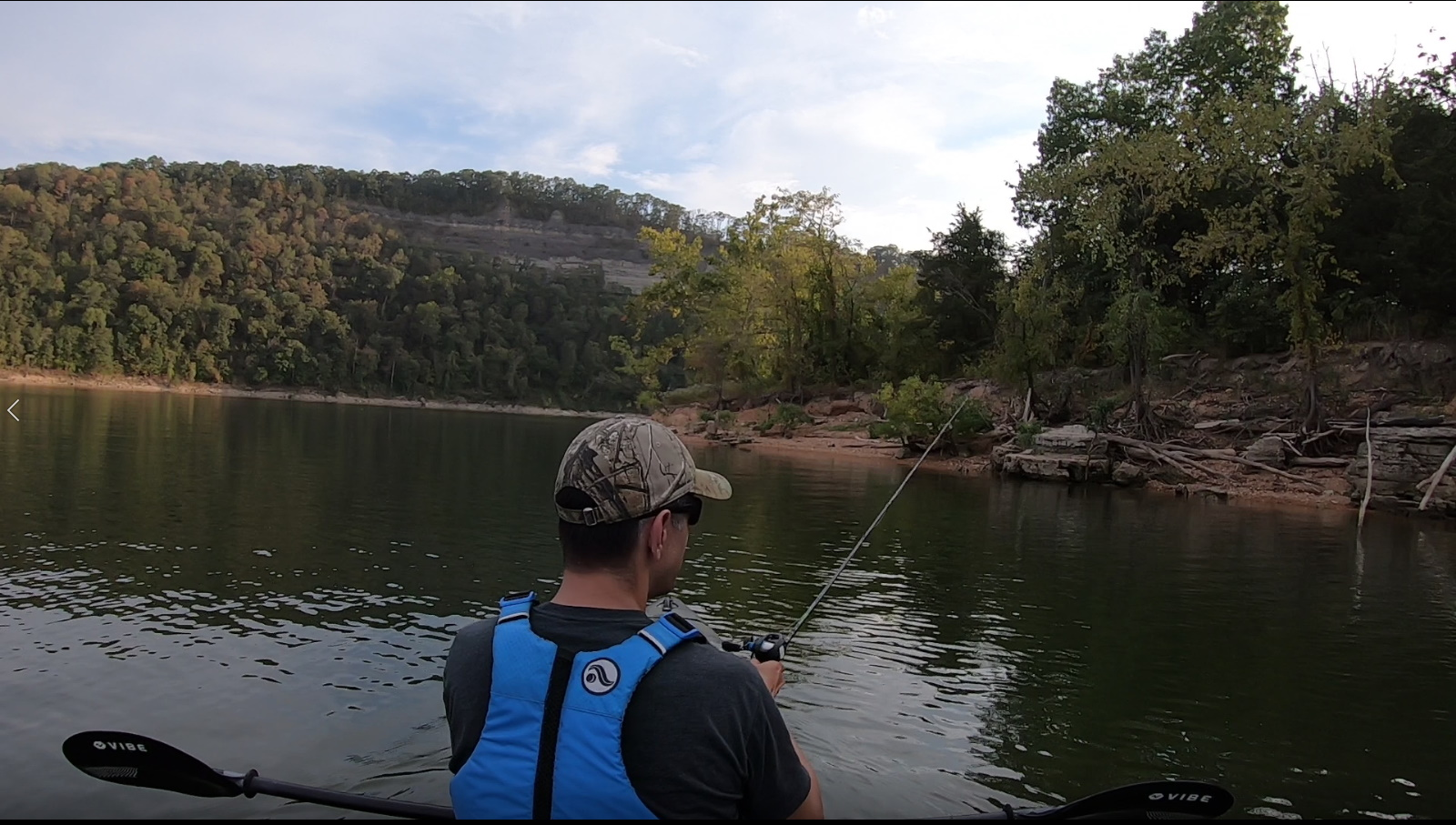 Table Rock Lake Kayak Fishing